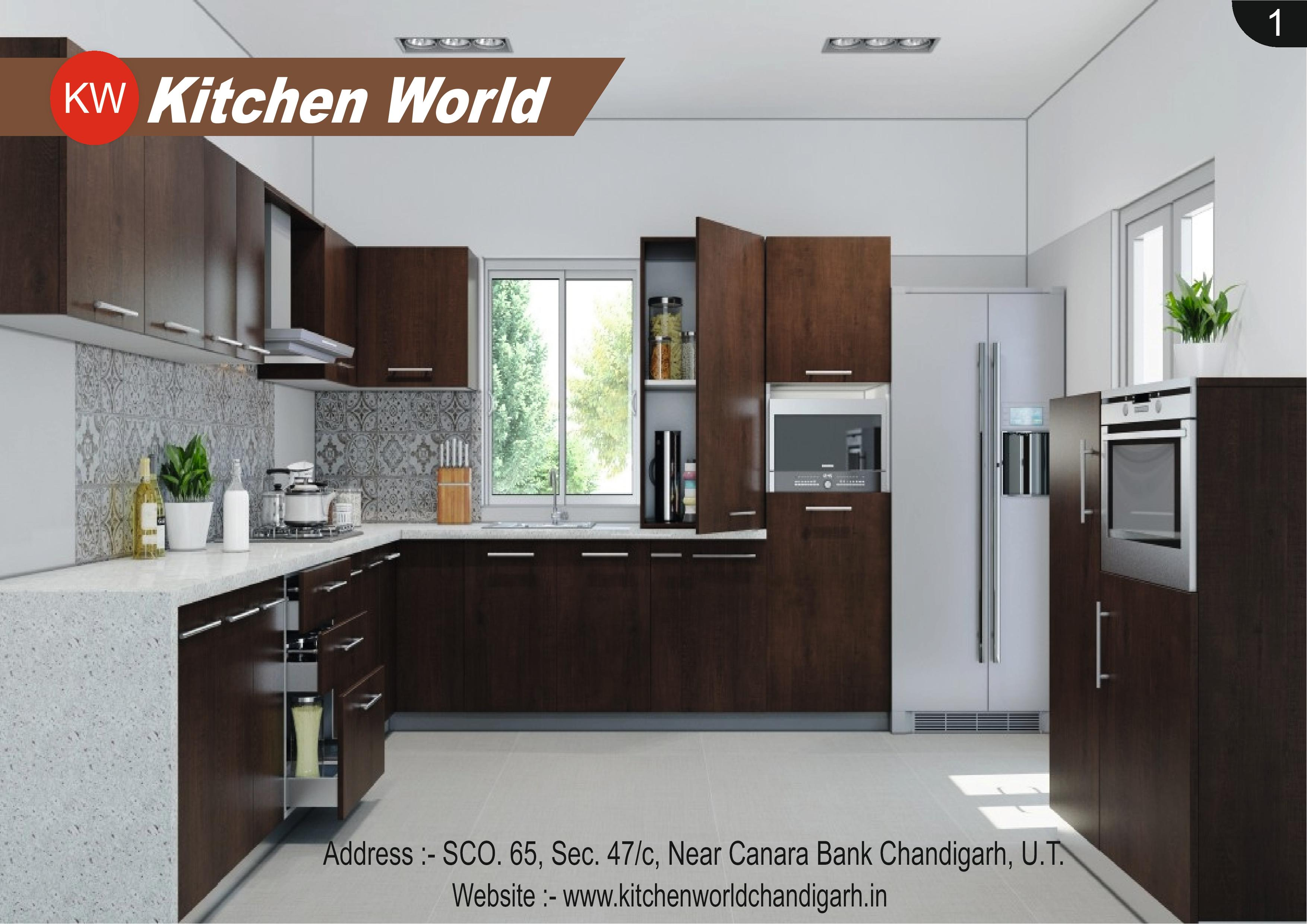 ... 9216767577 By Kitchen World Chandigarh Modular Kitchen Modular Kitchen  Maker Modular Kitchen Dealer Modular Kitchen Manufacturer Kundan Traders Is  Best ...