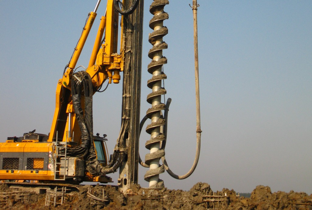 Piling work in chennai mobile no 9444389143 by bedrock for Foundation pilings